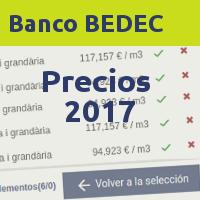 BEDEC precios