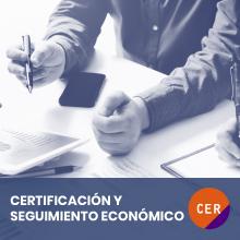 Certificacion y seguimiento economico