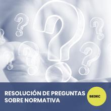 Resolución preguntas normativa